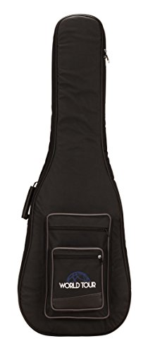 World Tour BG20DN  Deluxe 20mm Bass Guitar Gig Bag