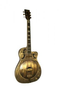 Kumalae S101 RGS 4-4 C Resonator Guitar, Right Handed