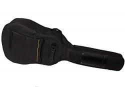 Faswin 41 Inch Dual Adjustable Shoulder Strap Acoustic Guitar Gig Bag – Black