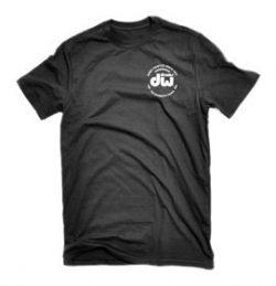 DW Drum Workshop Short Sleeve Tee, Heavy Cotton, Black with DW  Logo, XL