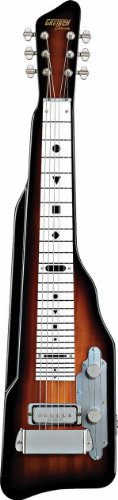 Gretsch G5700 Electromatic Lap Steel with White Plastic Fretboard – Tobacco