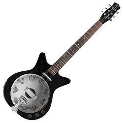 Danelectro '59 Acoustic-Electric Resonator Guitar Black
