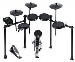 Alesis Nitro Kit | Electronic Drum Set with 8″ Snare, 8″ Toms, and 10″ Cymbals