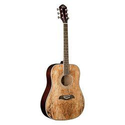 Oscar Schmidt OG2SM   Acoustic Guitar – Spalted Maple