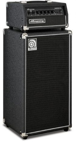 Ampeg MICRO-CL Micro-CL Bass Amp Stack – 100-Watt Head with 2 x 10 Cabinet