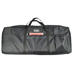 Electric Piano Portable Padded Gig Bag/Case for 61 Key Keyboard with Extra Large Pockets, Made o ...