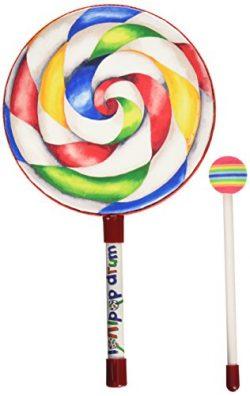 Remo ET-7108-00 Kids Percussion Lollipop Drum, 8″