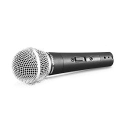 Professional Dynamic Vocal Microphone – Moving Coil Dynamic Cardioid Unidirectional Handhe ...