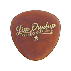 Dunlop 494P101 Americana Round Triangle, Brown, 3/Player's Pack