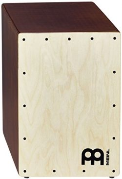 Meinl Percussion JC50LBNT Baltic Birch Wood Compact Jam Cajon with Internal Snares, Light Brown