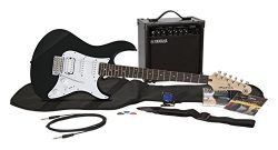Yamaha Gigmaker EG Electric Guitar Pack with Amplifier, Gig Bag, Tremolo Bar, Tuner, Instruction ...