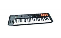 M-Audio Oxygen 49 MKIV   49-Key USB MIDI Keyboard & Drum Pad Controller (8 Pads / 8 Knobs /  ...