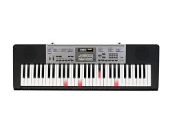 Casio LK-175 61-Key Lighted Keyboard with Power Supply
