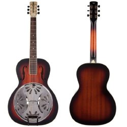 Gretsch G9220 Bobtail Round-Neck Acoustic-Electric Resonator Guitar – 2 Color Sunburst