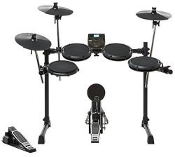 Alesis DM6 Nitro Kit | Eight-Piece Compact Beginner Electronic Drum Set with 8″ Snare, 8&# ...