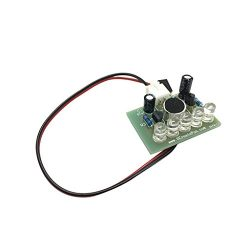 Dovewill 3-5.5V Sound Control 5-LED Melody Lamp Light Module Electronic Production
