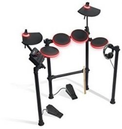 Ion Audio Redline Drums Illuminated Electronic Drum Kit