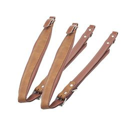 ammoon One Pair Synthetic Leather Accordion Shoulder Straps for 16-120 Bass Accordions