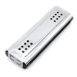 Andoer 2-in-1 Tremolo Harmonica Mouth Organ Dural Key of C&G 24 Double Holes with 48 Reeds F ...