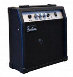 10 Watt Bass (Base) Guitar Amplifier Combo Amp Practice BA-10W & DirectlyCheap(TM) Transluce ...