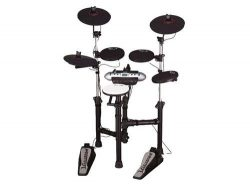 Carlsbro CSD120 Electronic Drum set with Silent Kick Pedal