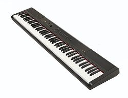 Artesia PA-88W Digital Piano (Black) 88-Key With 12 Dynamic Voices and Semi-weighted Action + Po ...