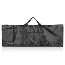 Neewer 88-Key Keyboard Bag with Extra Pockets for Electric Piano, Made of Durable and Waterproof ...