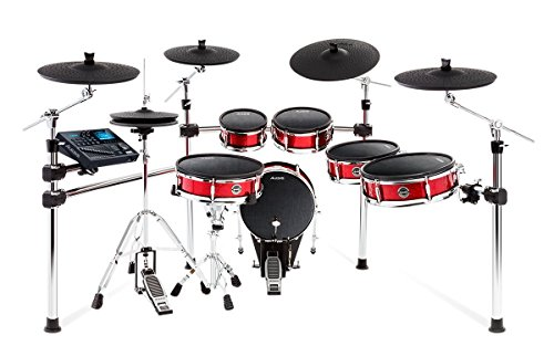 Alesis Strike Pro Kit | Eleven-Piece Professional Electronic Drum Kit with Mesh Heads