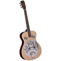Regal RD-40N Studio Series Roundneck Resophonic Guitar – Natural
