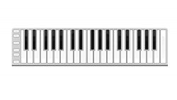 CME XKEY 37 LE Ultra Slim 37 Full Size Key Portable USB MIDI Controller Keyboard with Full Veloc ...