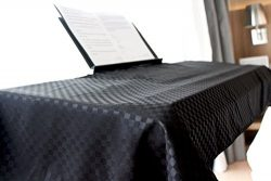 Clairevoire Universal Keyboard & Digital Piano Dust Cover [Ebony Black] for 88 keys | Book-s ...