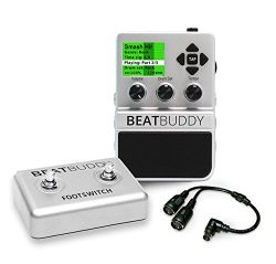Singular Sound BeatBuddy Guitar Pedal Drum Machine + Footswitch + MIDI breakout cable BUNDLE