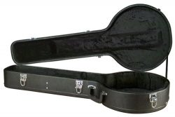 Carrion C-2901 Black Hardshell 5-string Resonator Banjo Case