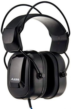 Alesis DRP100 | Extreme Audio-Isolation Electronic Drum Reference-Headphones with 1/4″ Ada ...