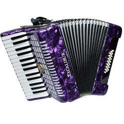 Excalibur Geneva 24 Bass Piano Accordion – Violet