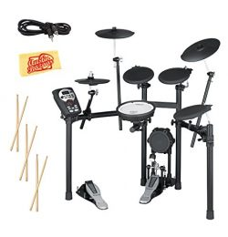 Roland TD-11K Electronic Drum Set Bundle with 3 Pairs of Sticks, Audio Cable, and Austin Bazaar  ...