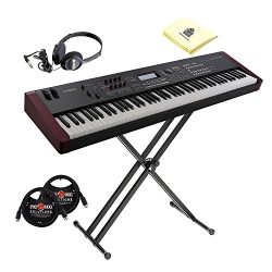 Yamaha MOXF8 Graded Hammer Standard 88 Keys Music Production Keyboard Workstation with Initial T ...
