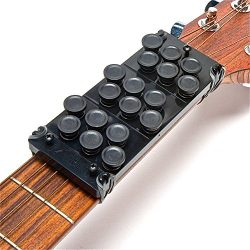 Ez-Fret Beginner Guitar Attachment, Eliminates Finger Pain, 110 Chords Available, Fits Full Size ...