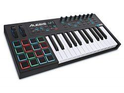 Alesis VI25 | Advanced 25-Key USB MIDI Keyboard & Drum Pad Controller (16 Pads / 8 Knobs / 2 ...