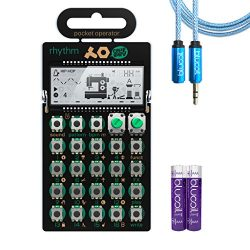 Teenage Engineering PO-12 Rhythm Drum Machine, Sequencer and Synthesizer – INCLUDES &#8211 ...