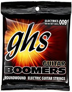 GHS GBCL Guitar Boomers Roundwound Custom Light Electric Guitar Strings