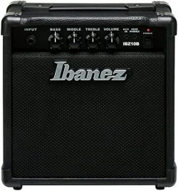 Ibanez IBZ10B 10W Practice Bass Guitar Amplifier, Black