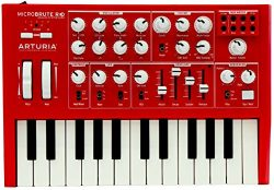 "Arturia MicroBrute SE Analog Synthesizer RED + Analog Lab 2 software ""Free Upgrade"" to Analog La ..."