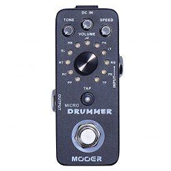 Mooer Audio Micro Drummer Digital Drum Machine Pedal