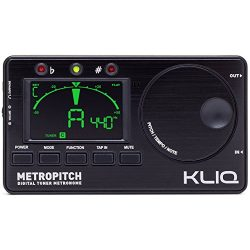 KLIQ MetroPitch – Metronome Tuner for All Instruments – with Guitar, Bass, Violin, U ...
