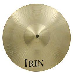 ammoon 16″ Brass Alloy Crash Ride Hi-Hat Cymbal for Drum Set