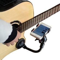 LMS Guitar Sidekick Universal Smartphone Support Phone Holder for iPhone 6s Plus 6s 5s 5c Samsun ...