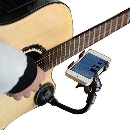 LMS Guitar Sidekick Universal Smartphone Support Phone Holder for iPhone 6s Plus 6s 5s 5c Samsun ...