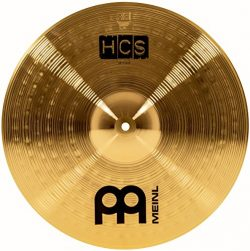 Meinl Cymbals HCS16C 16″ HCS Brass Crash Cymbal for Drum Set (VIDEO)