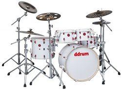 ddrum HYBRID 5 PLAYER WHT -Piece Drum Shell Pack